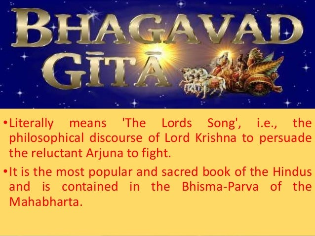 Education as conceived in bhagavad gita,