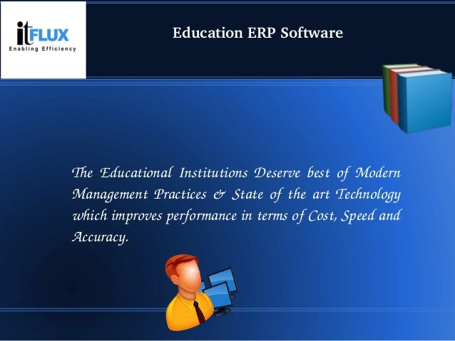Simplifies Your Institution Management. Slide 3