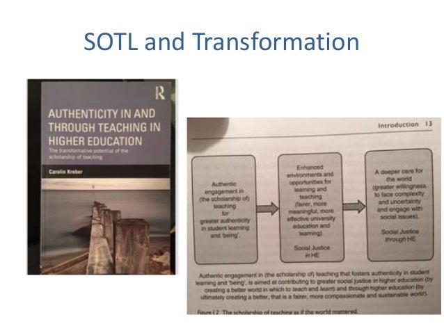 SOTL and Transformation