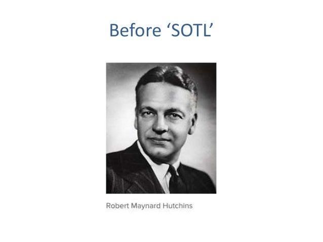 Before 'SOTL'