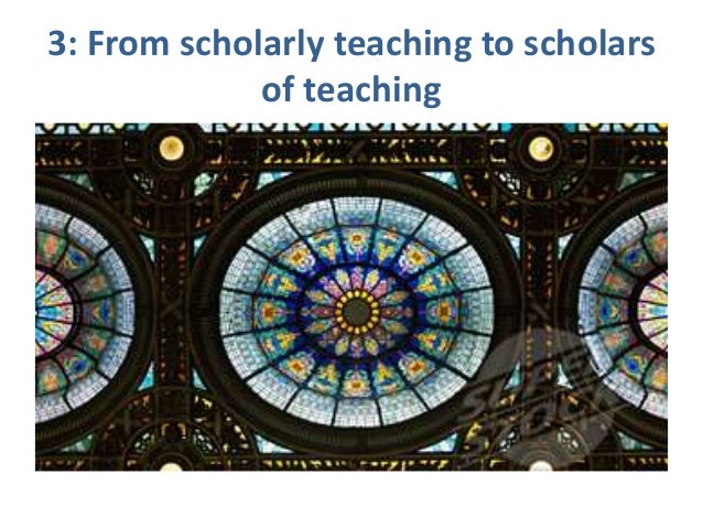 """From reflection to research to scholarship """"Oh I can tell you I am very critical about my own work and I'm very aware of a..."""