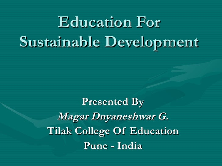 What is Education for Sustainable Development?