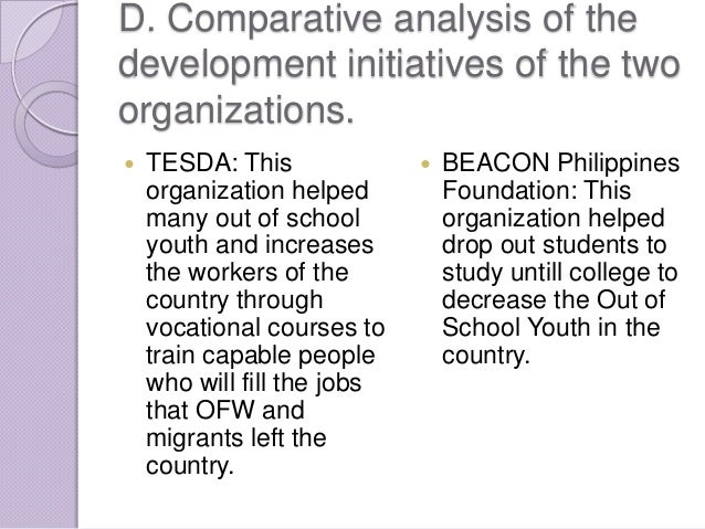 comparative analysis in educational system between kenya and philippines The educational system in south korea : allowing some comparative analysis the link between education and social policies become an evidence.