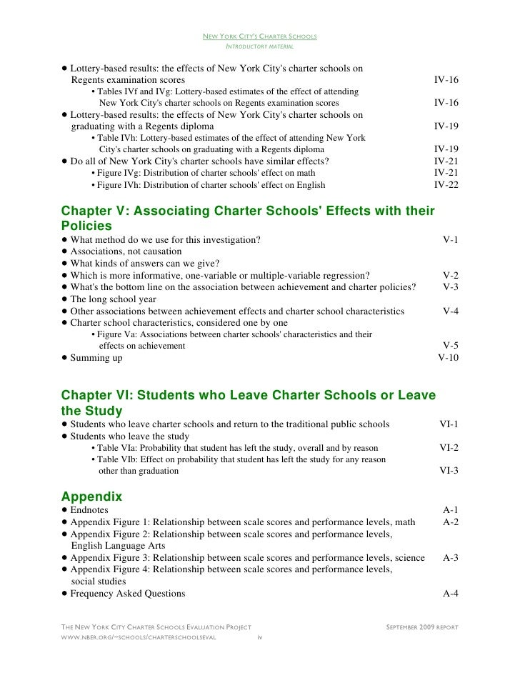 Control Issues in Charter Schools