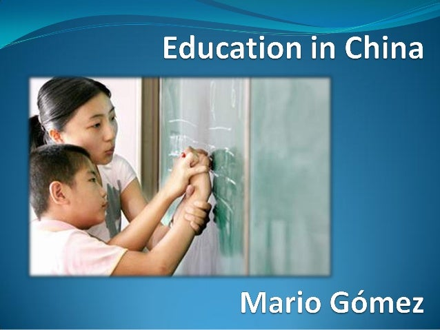  The Educational System in China is very competitive  and there are many tests through it. Despite that, student´s level...