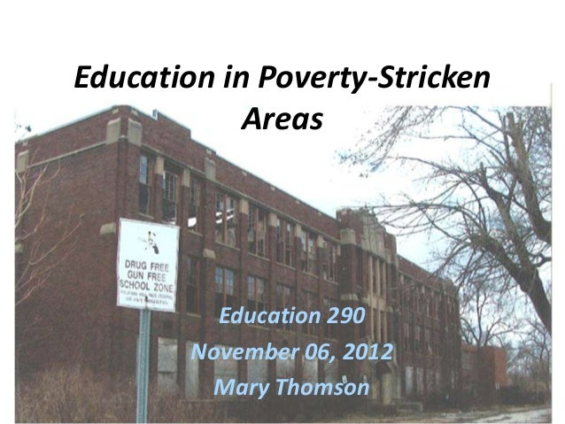 Poverty vs education