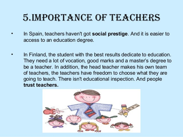 Education in spain vs education in finland