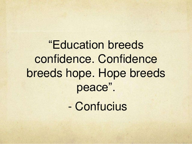 Confucius say's – scottpritchardblog