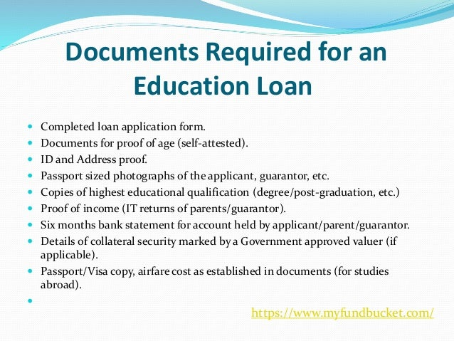 Apply Education Loan Online