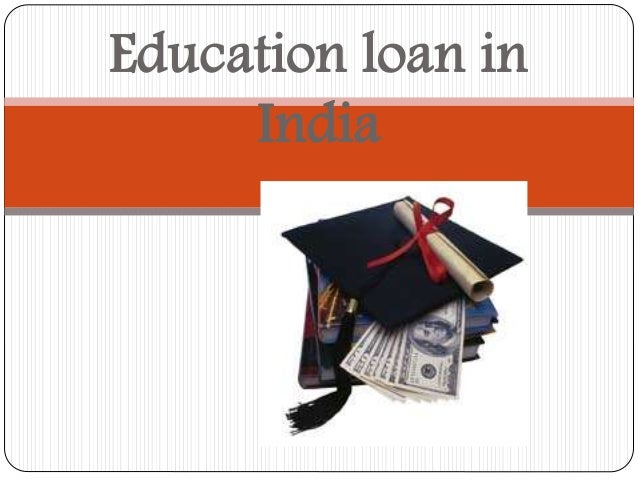 how to get student loan in india