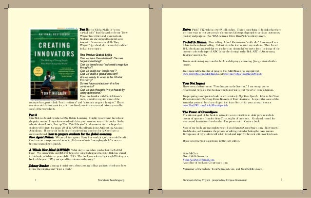 Education personal history ebook by Enrique Gonzalez, former principal Slide 3