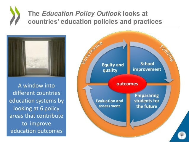 The Education Policy Outlook looks at       countries' education policies and practices                               Equi...