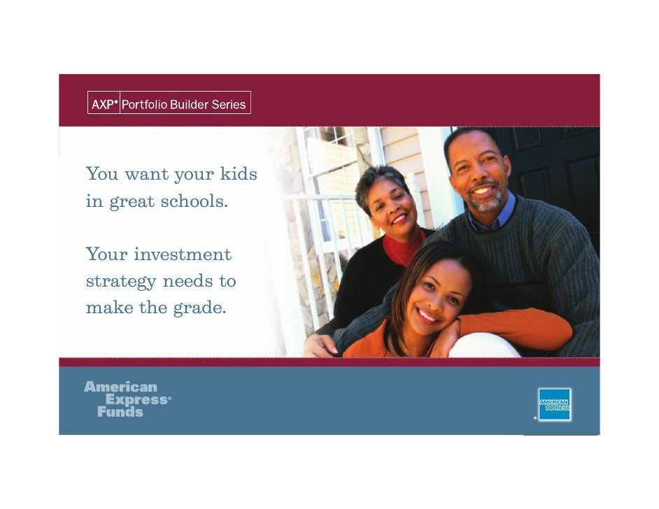 You want your kids in great schools.  Your investment strategy needs to make the grade.