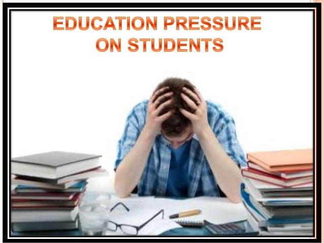 Academic pressure definition