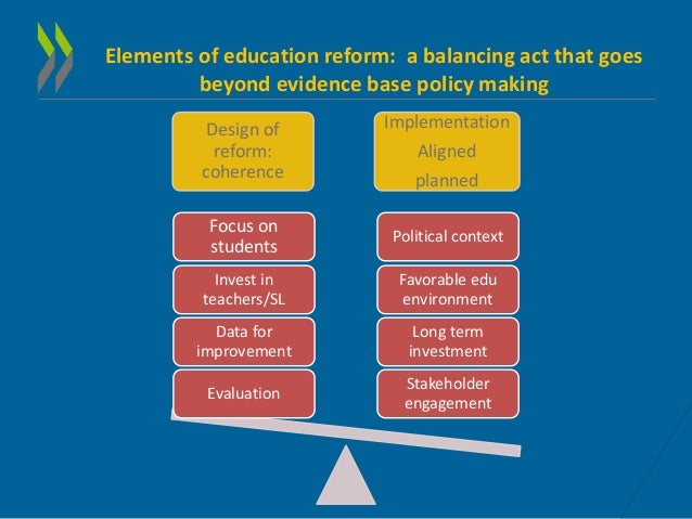 the principles that can promote the base of school reforms Professional standards for teachers  as we consider the education and training reforms for the future (etrf),  changes are transforming the knowledge base of our.
