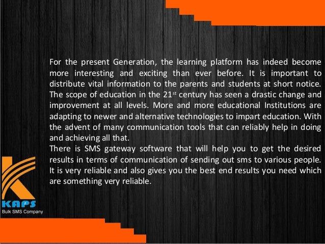 Education SMS Services Slide 2