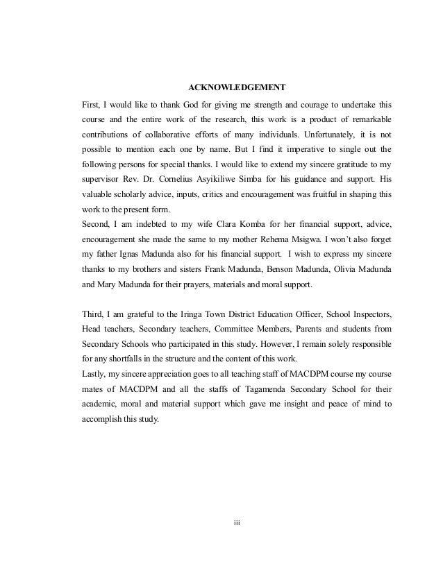 Stakeholders education dissertation
