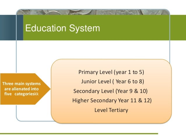 education system in bangladesh Bangladesh education stats, nationmaster  bangladesh ranked third for secondary education, duration  years amongst former british colonies in 2012.