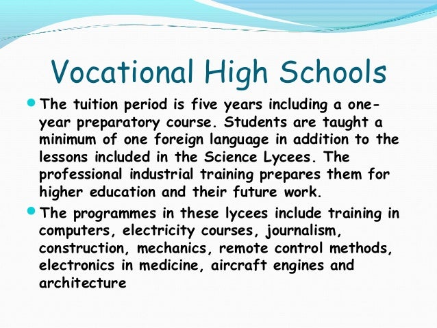 an analysis of education system in turkey Journal of career and technical education  background of vocational education in turkey the educational system in turkey is highly centralized  data analysis.