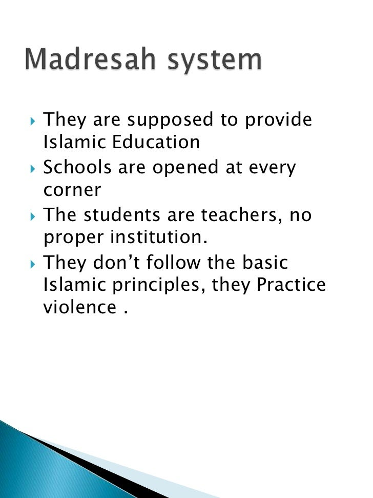 Thesis About Education In Pakistan