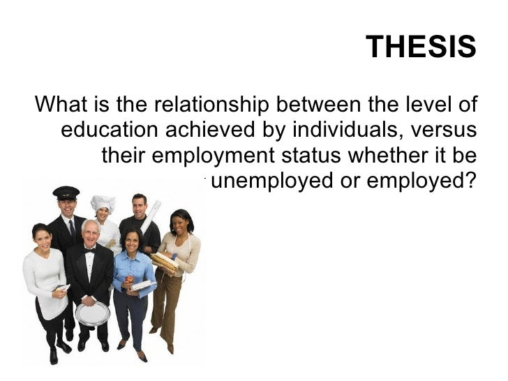 Master thesis unemployment