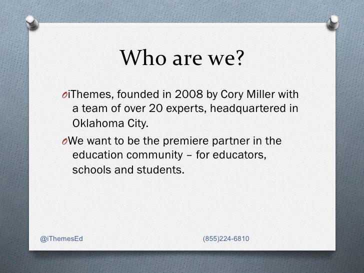 Getting Started with iThemes Education Program Slide 2