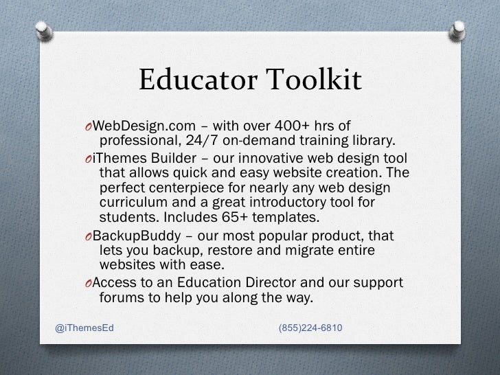 Getting Started with iThemes Education Program Slide 3