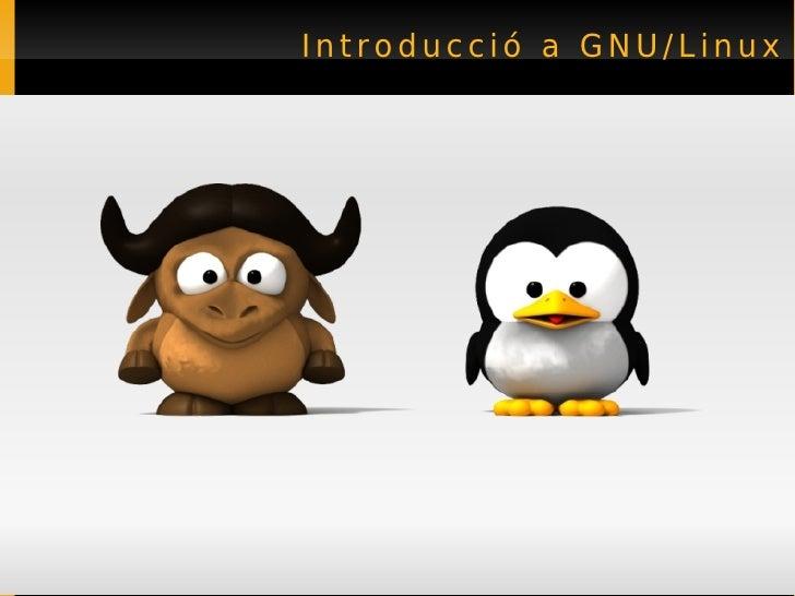 Introducció a GNU/Linux