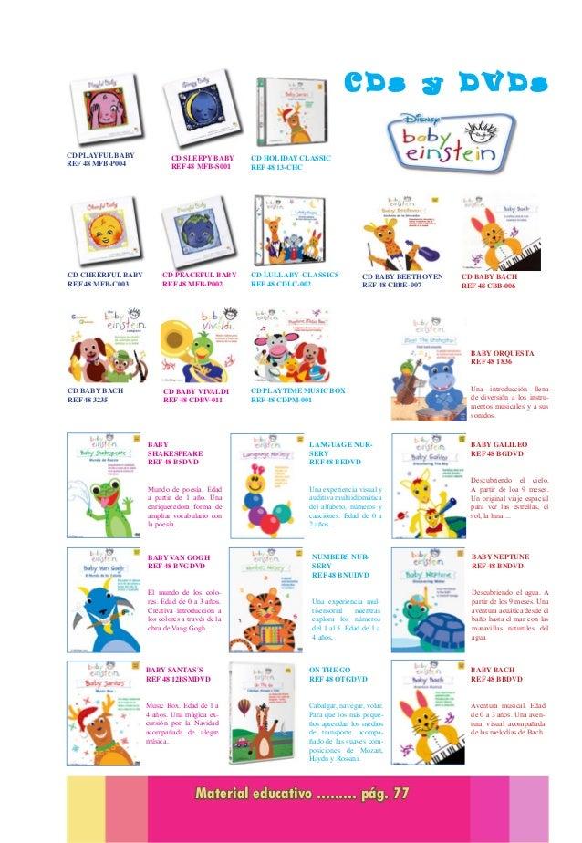 Catalogo de Material Educativo para guarderias 2014 - 2015