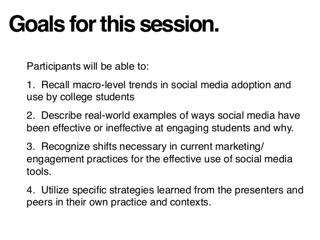 Educator's Selfie: Analysis and Suggestions for Institutional Social Media Implementation Slide 3