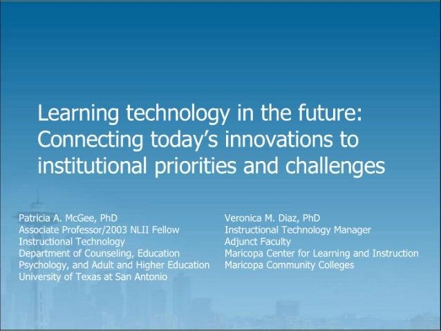 Educause2007 Presentation
