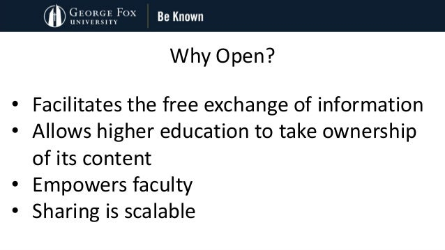 Strategies to Support Open Educational Resources for Student Success: Case Examples from Oregon Slide 3