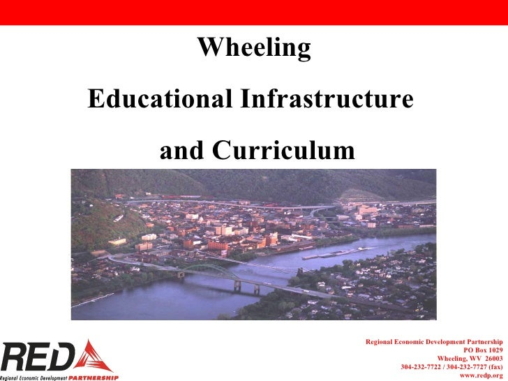 Wheeling Educational Infrastructure  and Curriculum