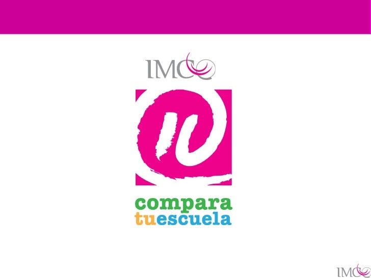 … una revolución deconsumidores de servicios      educativos     www.comparatuescuela.org