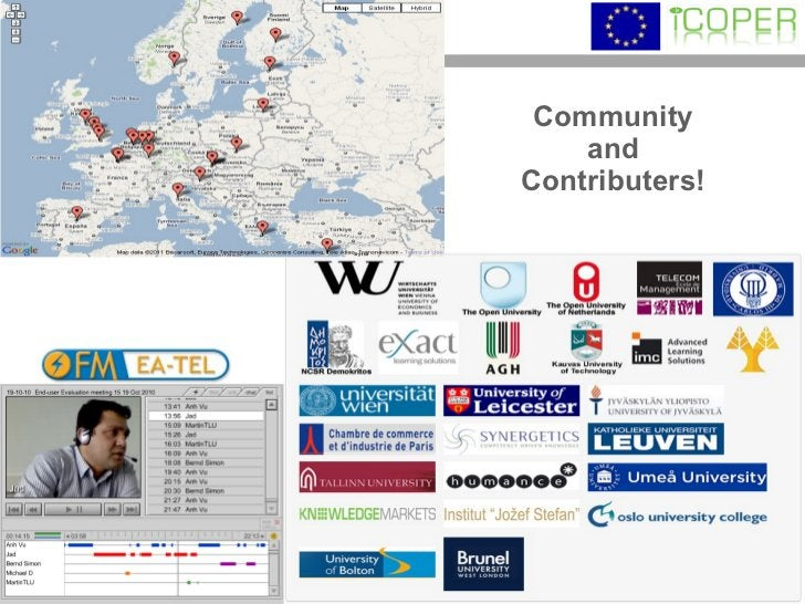 Community and Contributers!