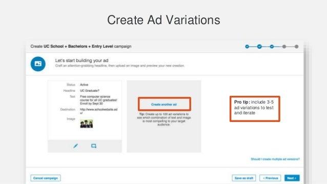 how to set up lead ads linkedin