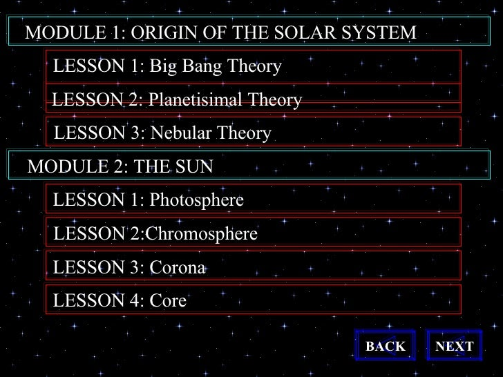 solar system big bang theory - photo #25