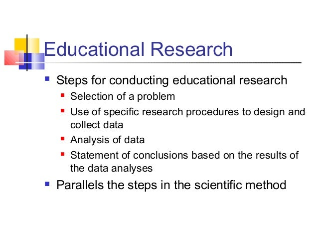 importance of educational research Education 7 types of educational research 9 two traditions of research: quantitative and qualitative 9basic research 10 it is also important to distinguish.