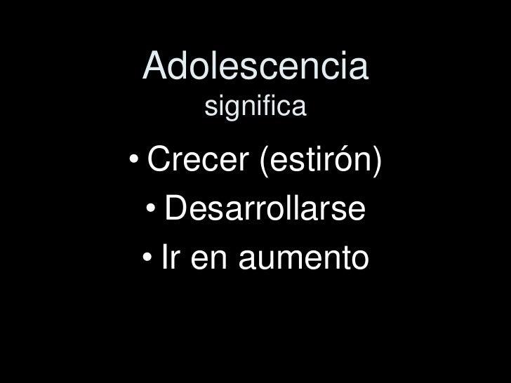 Educacion sexual adolescencia Slide 3
