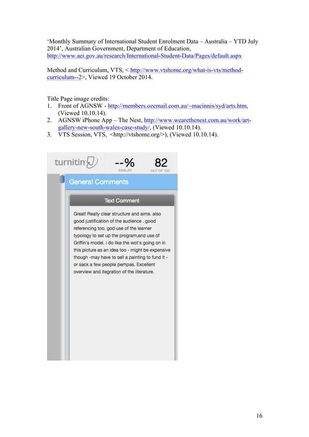 16 'Monthly Summary of International Student Enrolment Data – Australia – YTD July 2014', Australian Government, Departmen...