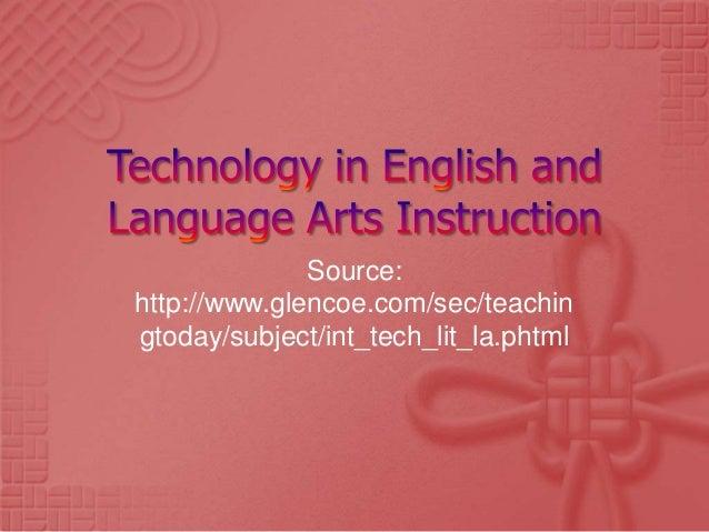 Source:http://www.glencoe.com/sec/teachingtoday/subject/int_tech_lit_la.phtml