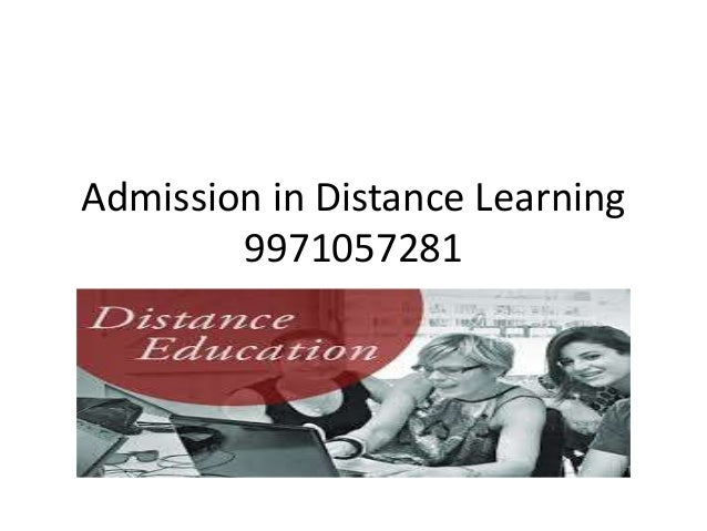 Admission in Distance Learning  9971057281