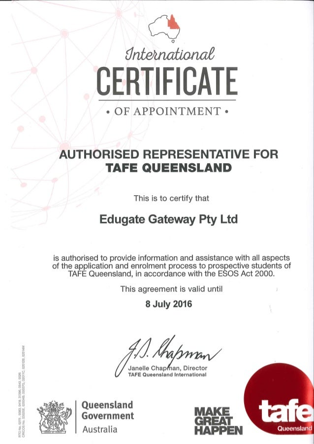 tafe sa how to start course