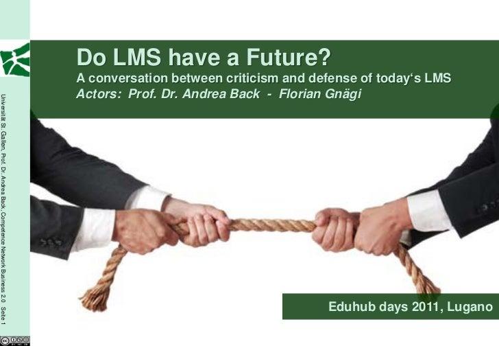 Do LMS have a Future?                                                                                         A conversati...