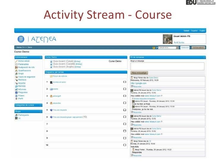 Activity Stream - Course