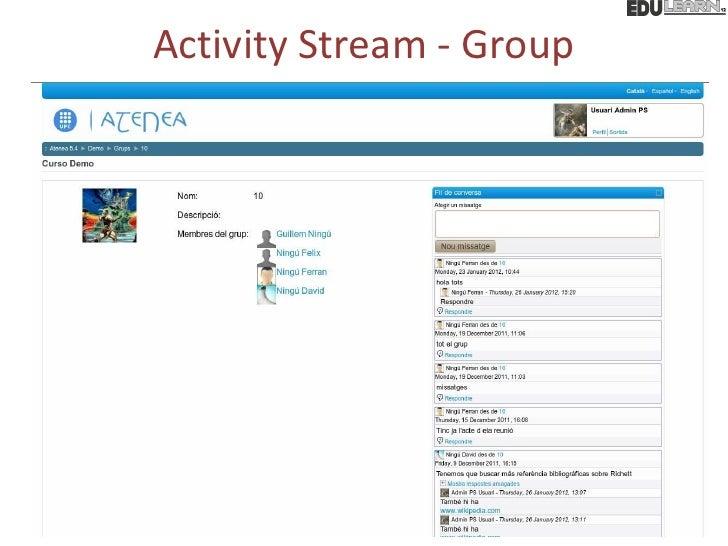 Activity Stream - Group