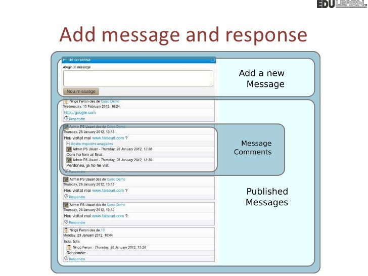Add message and response