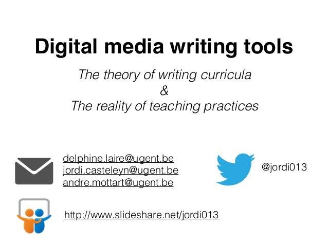 Writing for Digital Media