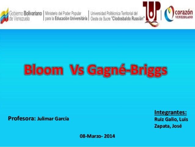 Integrantes:  Ruiz Galio, Luis  Zapata, José  Profesora: Julimar García  08-Marzo- 2014