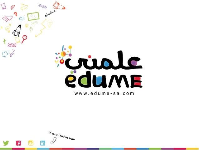 Edu Me - Flat6Labs Jeddah Spring 2015